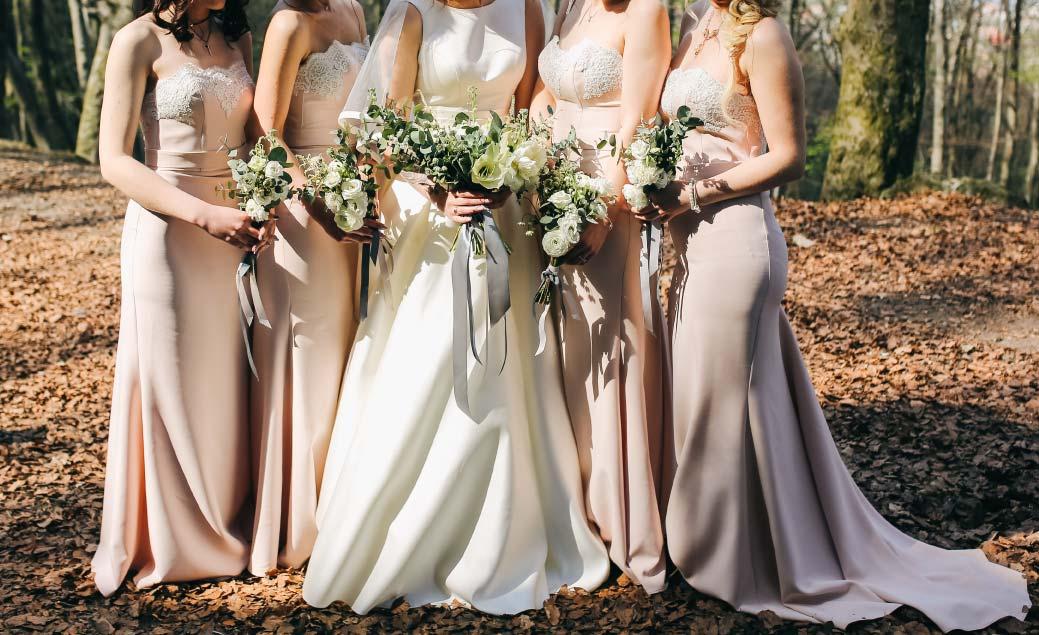 Steam press service for bridesmaids