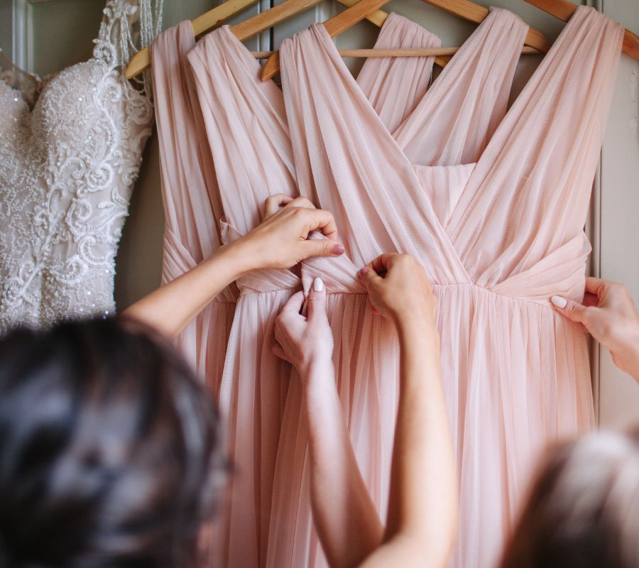 bridesmaid dresses online need steaming
