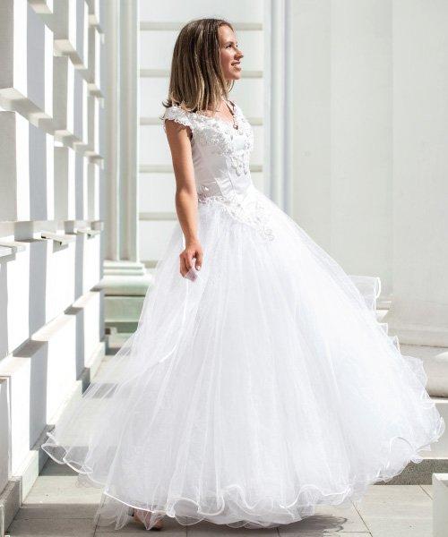 Steam press debutante dress